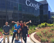 After a tour of Google/ Trip to Silicon Valley
