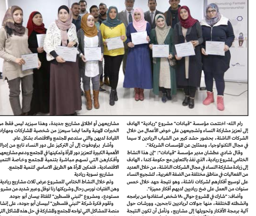 Leaders Organizations concluded its project